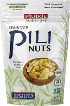 Load image into Gallery viewer, Sprouted Pili Nuts, Unsalted