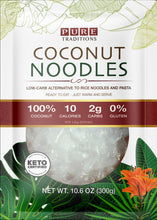 Load image into Gallery viewer, Coconut Noodles - Low Carb, Keto Certified.
