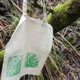 Tote Bag - Natural Leaf D1 Horizontal