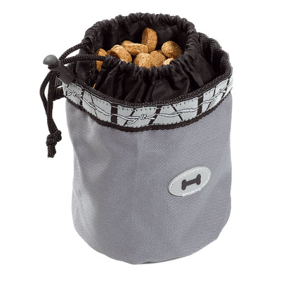 DOG TREATS BAG SMALL / Noir Ferplast