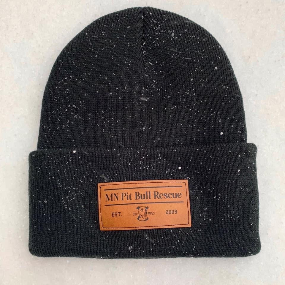 Beanies w/ leather patch