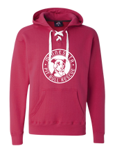 Load image into Gallery viewer, Hockey Hoodie- Wildberry