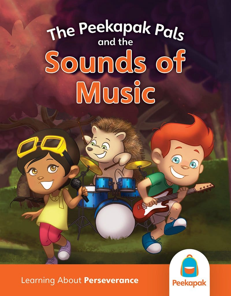 Perseverance Book: The Peekapak Pals and the Sound of Music