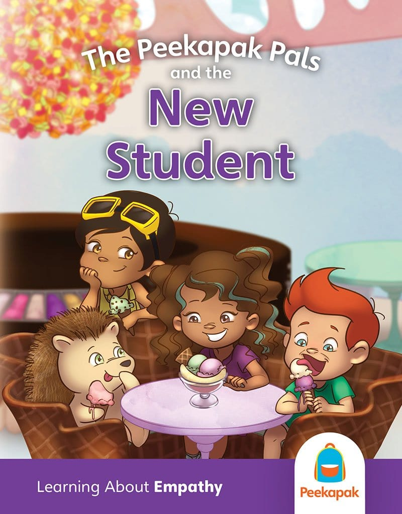 Peekapak Empathy Book Set: New Student