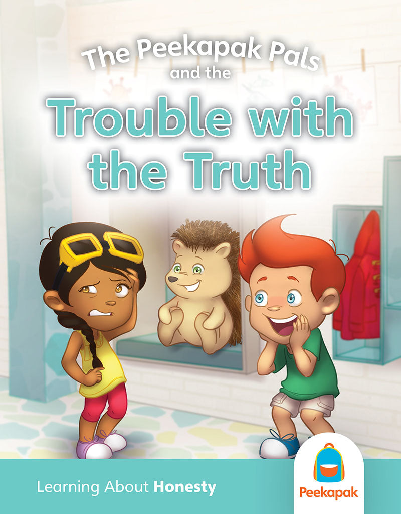 Peekapak Honesty Book Set: Trouble with the Truth