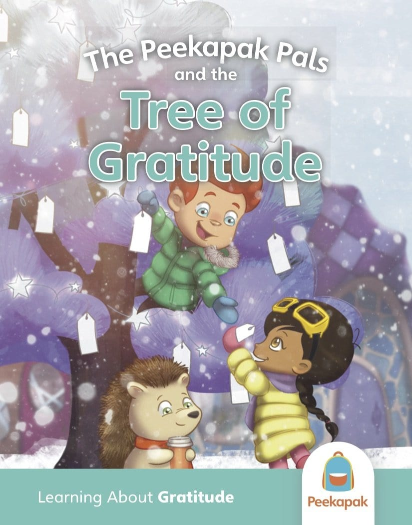 Peekapak Gratitude Book Set: Tree of Gratitude