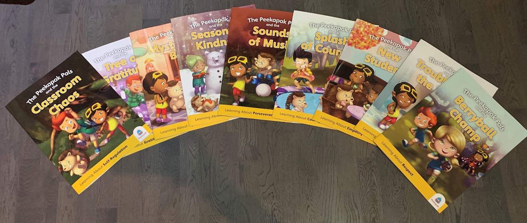 Complete Peekapak Book Set