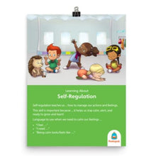 Load image into Gallery viewer, Self-Regulation Poster