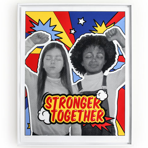 Silkscreen Print Stronger Together
