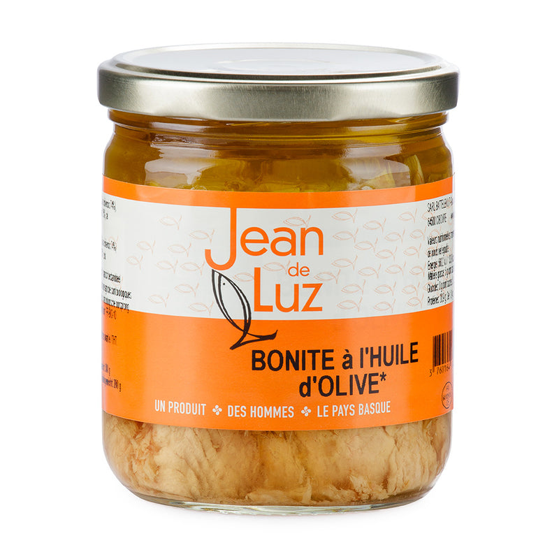 Filet de bonite à l'huile d'olive bio - 380gr
