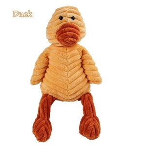 Soft Squeaker Toy: Animals