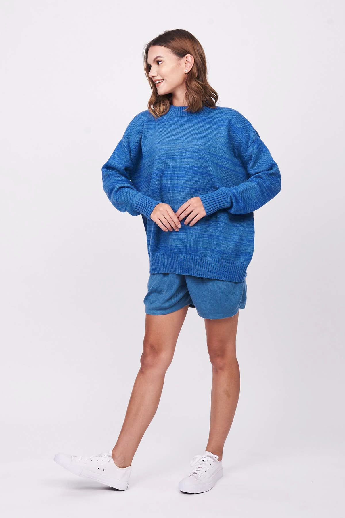 Dusty Royal Snugg Sweater