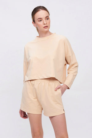 Jersey Tech Blush Sweatshort