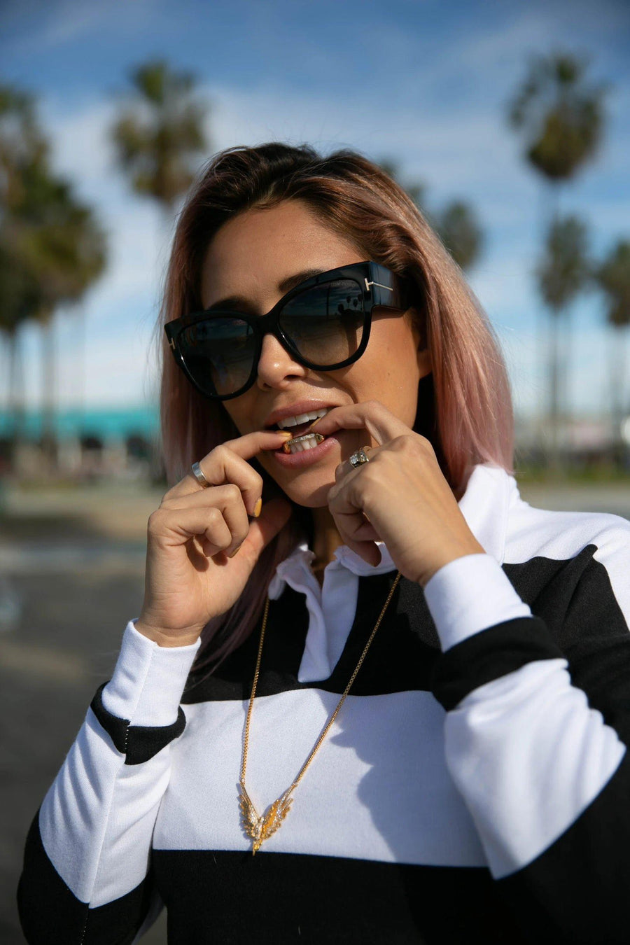 The Kim K - Sterling Silver 2 Piece Grillz