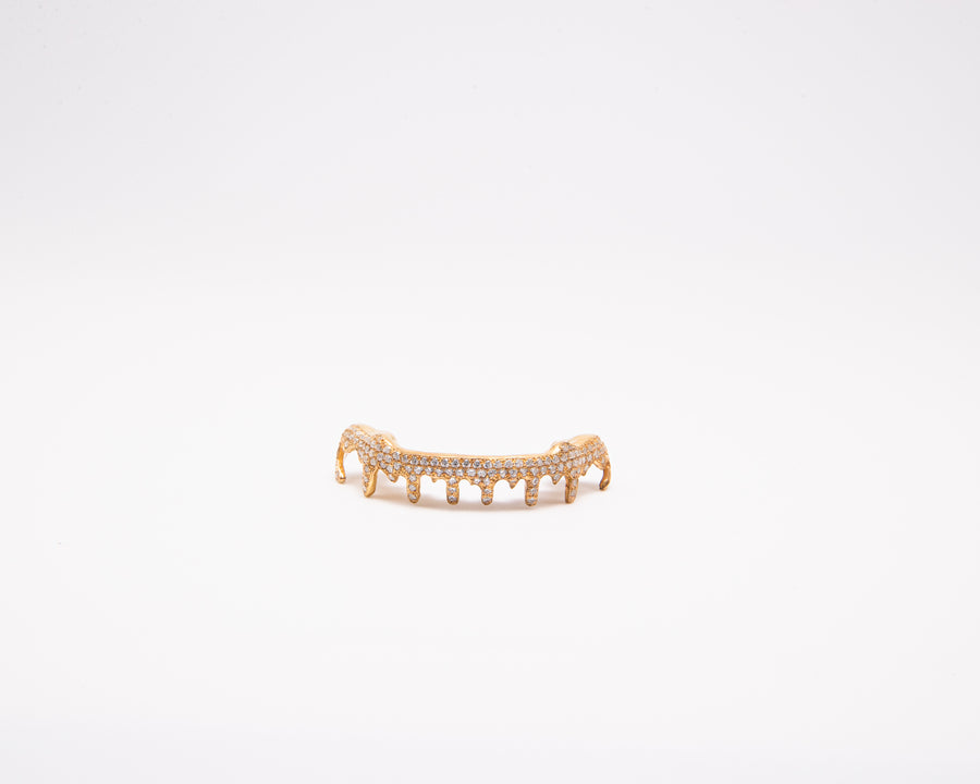 The Ice Cream-silver-custom-grillz plated