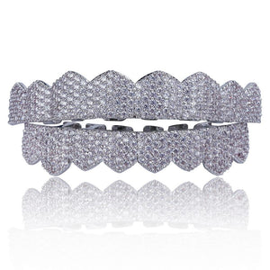 Iced Out Micro Pave CZ Deluxe Grillz