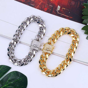 12mm Cuban Link Bracelet