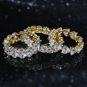 10mm Shaped CZ Stone Rings