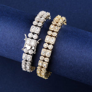 10mm Double Row CZ Barcelet