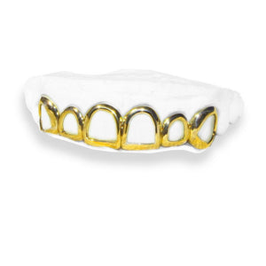 The Open Soul-yellow-gold-custom-grillz