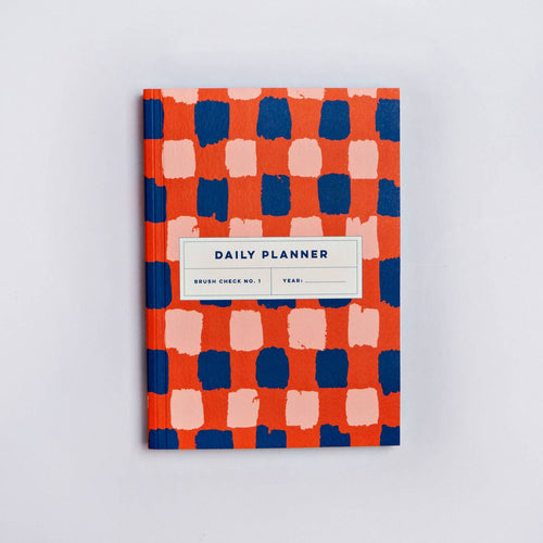 Brush Check No. 1 Daily Planner Book