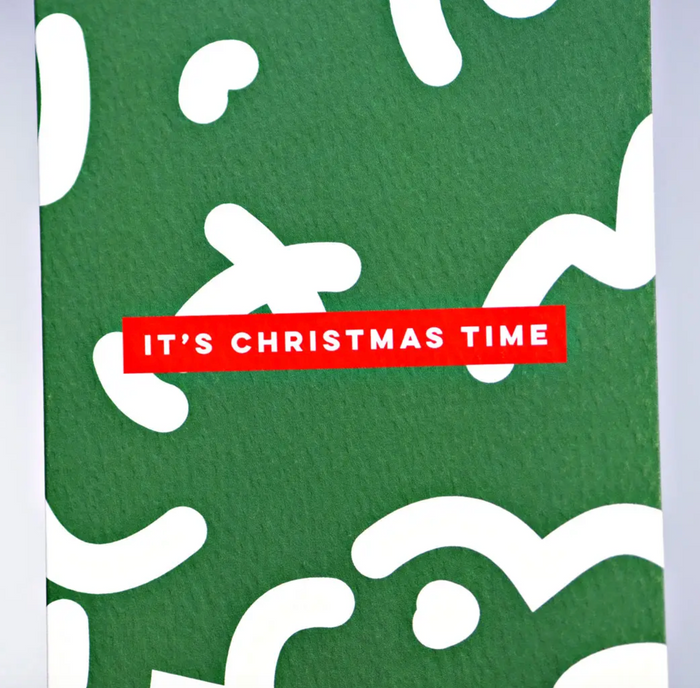 Christmas Time Squiggle Card