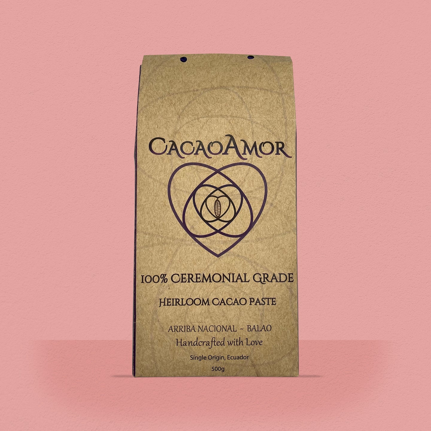 Ceremonial Cacao Paste - 500g block