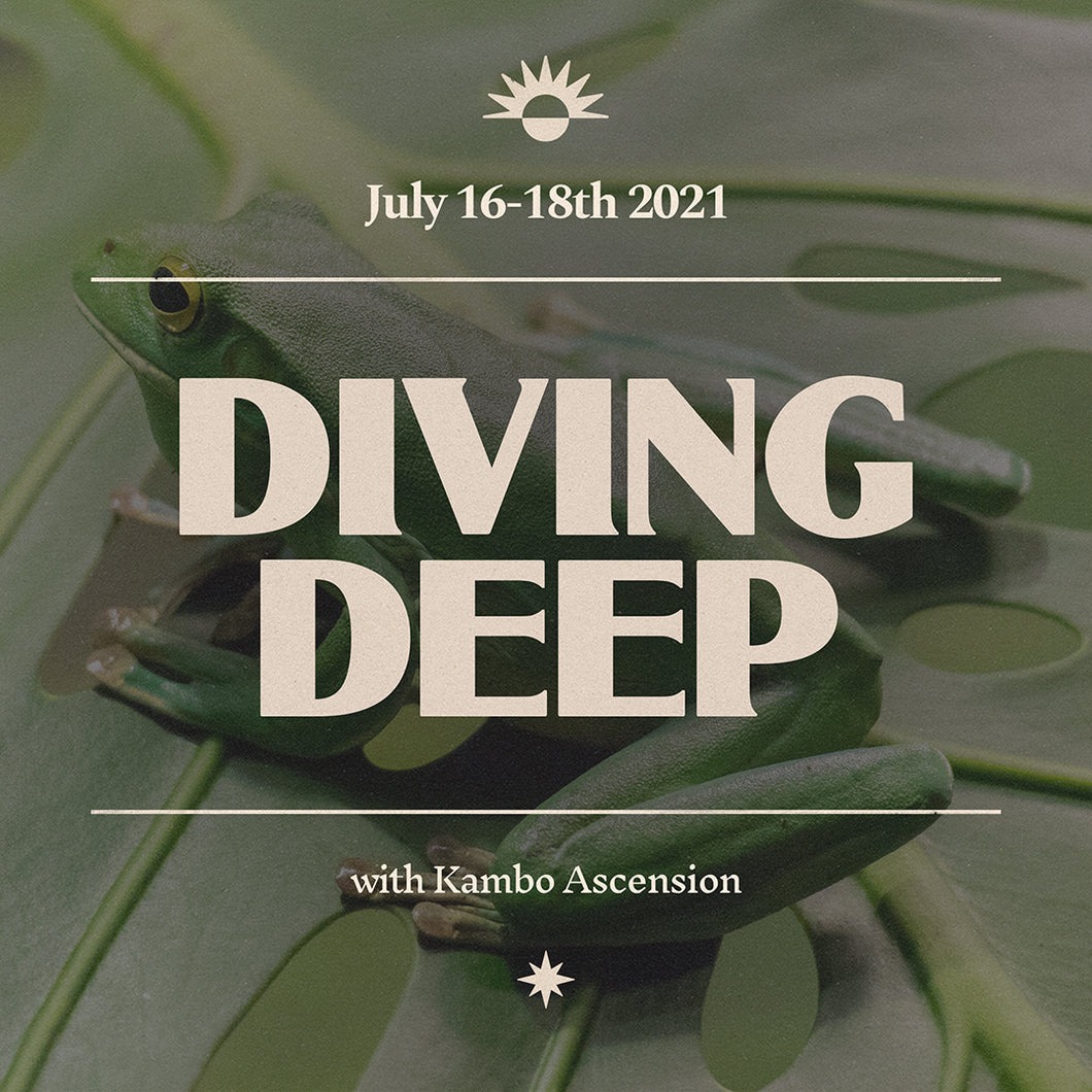 Diving Deep with Kambo
