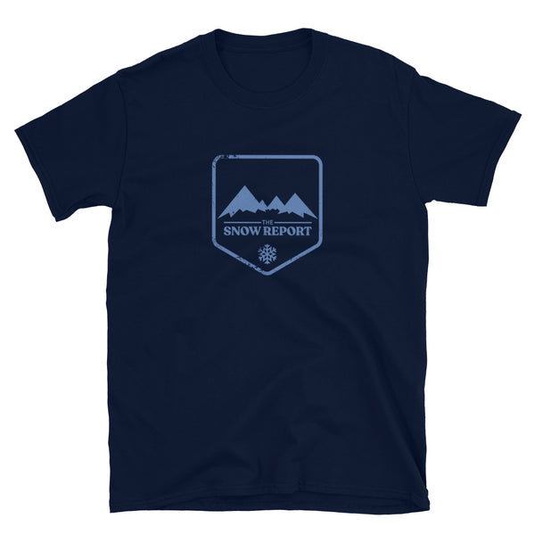 The Snow Report Logo T-Shirt in Navy