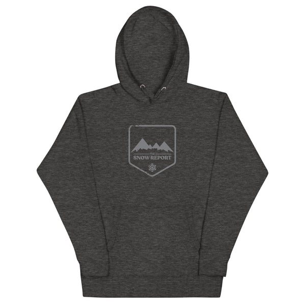 The Snow Report Logo Hoodie in Grey