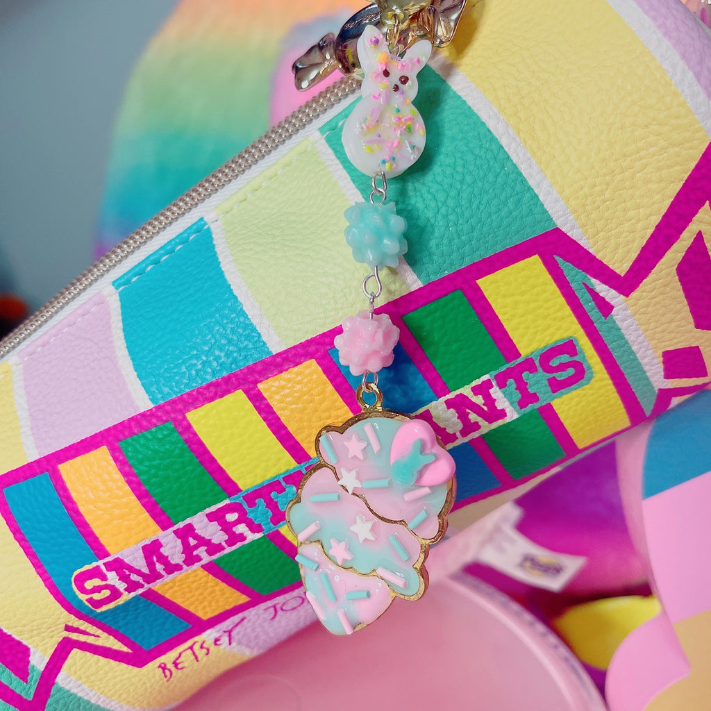 Kawaii Pastel Fairy Kei Peep Cotton Candy Ice Cream Charm