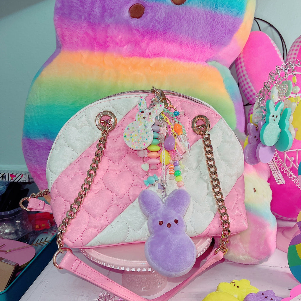 Lavender Kawaii Fairy Kei Peep Addict Lavender Pastel Candy Junk drawer Charm