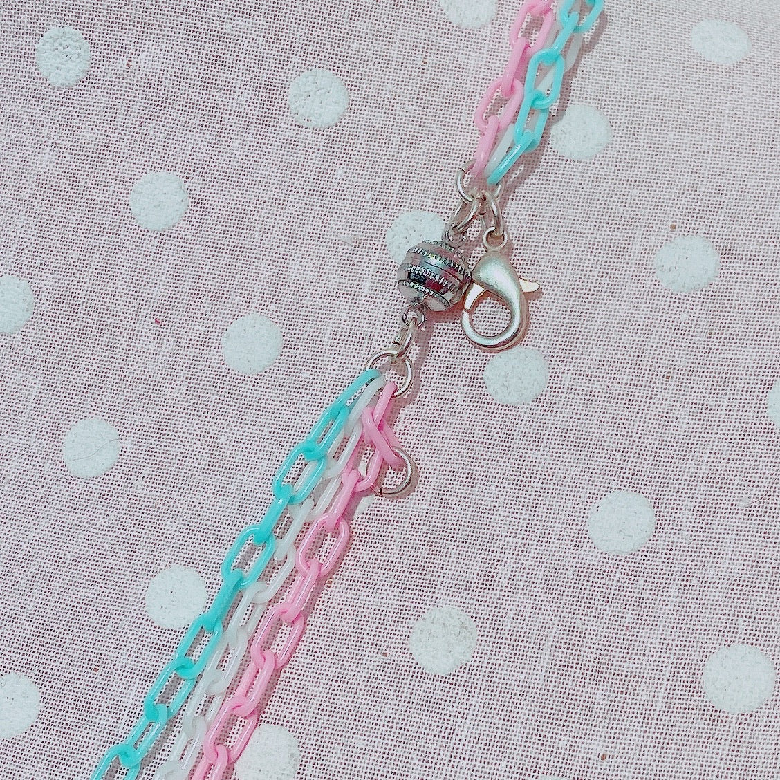Kawaii fairy kei Cotton Candy Necklace