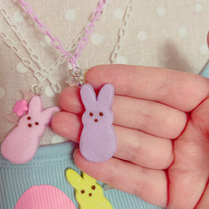 NEW COLORS ADDED Kawaii Baby Pastel Rainbow Peep Necklaces Pick One