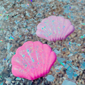 Kawaii Fairy Kei Pastel Mermaid Seashell Hair clips Pick One