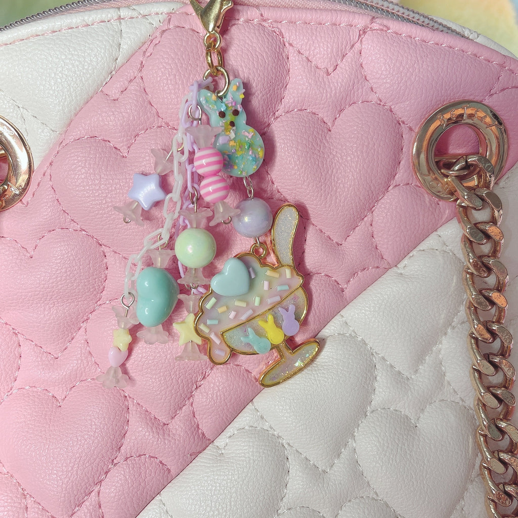 Peep parfait Kawaii Candy Charm