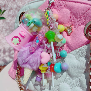 Kawaii Fairy Kei Pastel Gumball Candy Junk drawer Charm