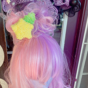 Kawaii Paupo Fruit Star Macaron Hair Clip Kingdom Hearts