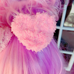 Fairy Kei Kawaii Heart Shaped Macaron Hair Clips Kawaii Pick One