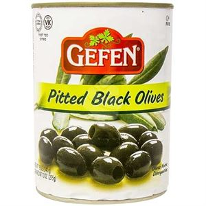 Gefen Pitted Black Olives