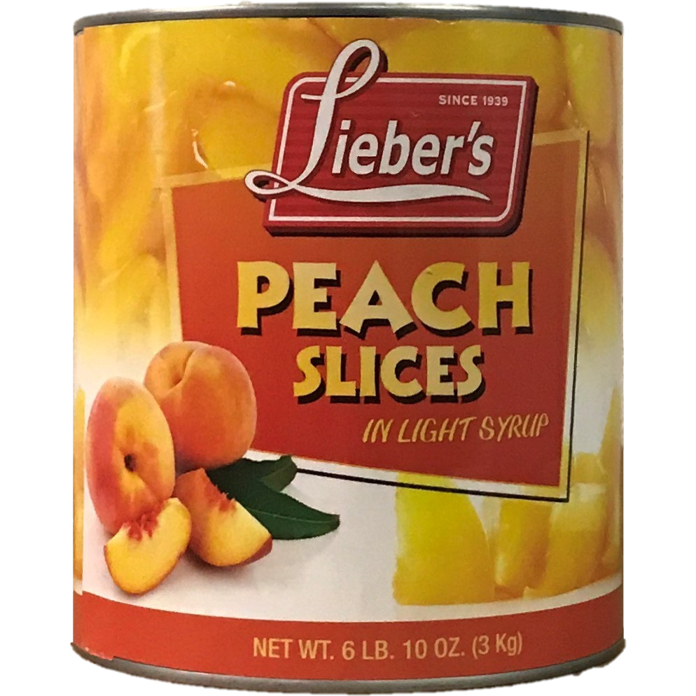 Liebers Peach Slices