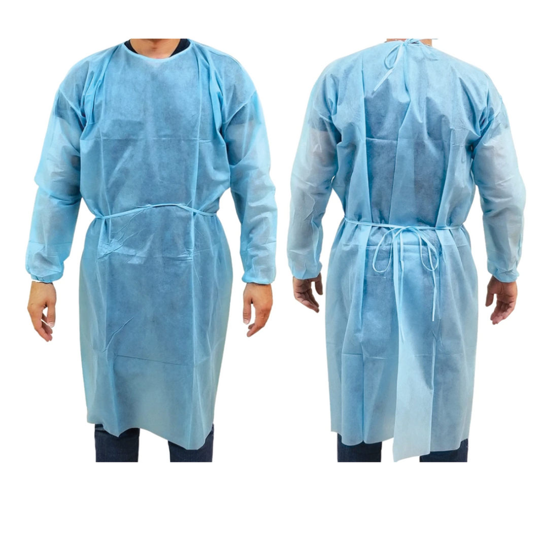 Disposable CPE Gowns - Level 1(Pack of 10)