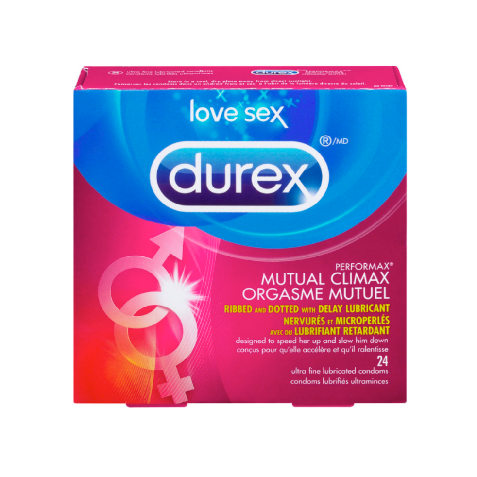 Durex Performax Mutual Climax Lubricated Condoms-24Condoms