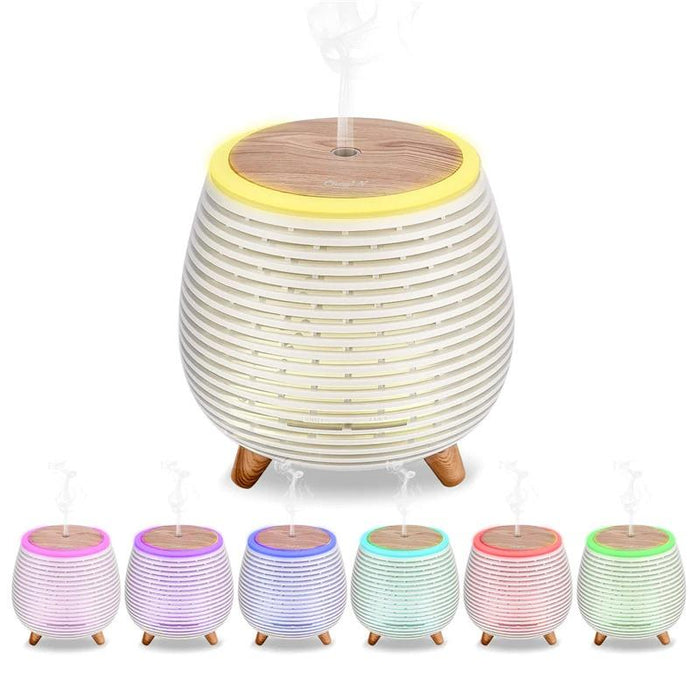 Mini Diffuser And Diffuser With Night Light 90ml - Topsy Store
