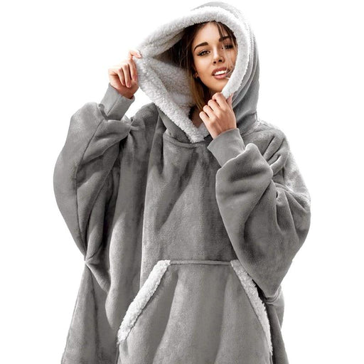 Women Oversized Comfy Hoodie - Topsy Store