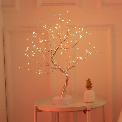 Fairy Light Sparkly Lamp - Topsy Store