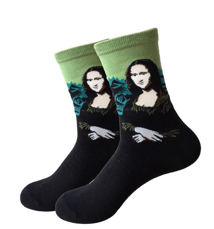 Mona Lisa - UNISEX SOCKS