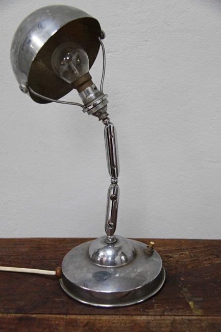 The French House - Chrome lamp