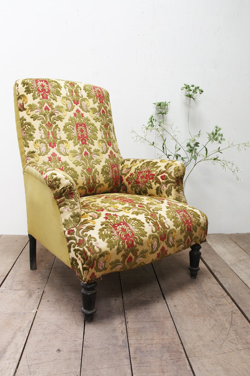 The French House - Mid 1800's high back chair