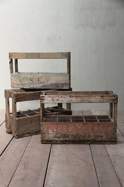 The French House - Wine crates